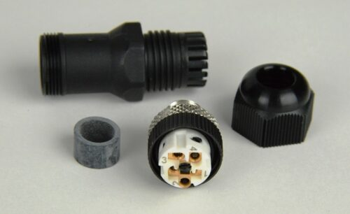 Field Wireable Plug - m12x5 A-coded Male