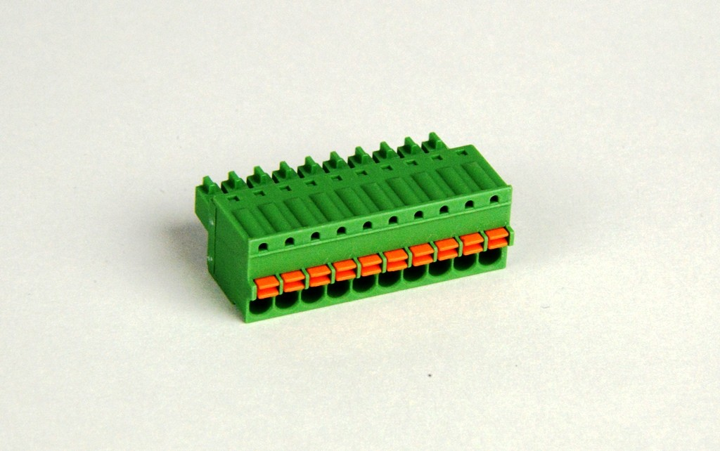 10 position Spring Clamp Terminal Block - SmartRail