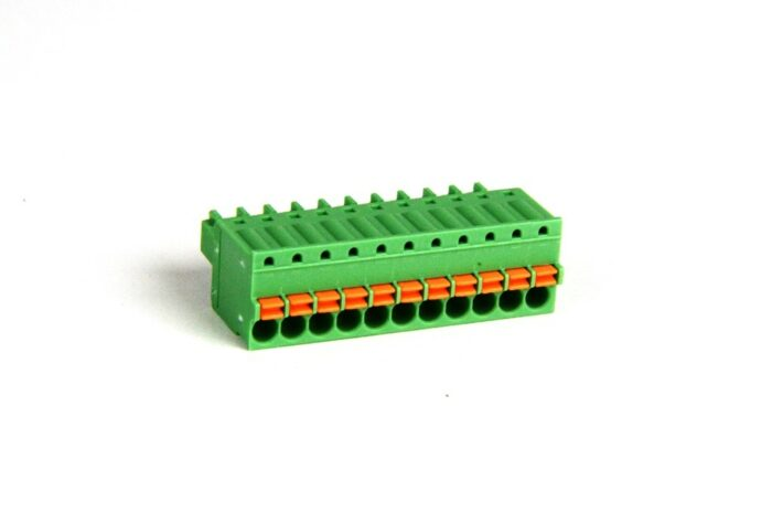 11 position Spring Clamp Terminal Block - SmartRail