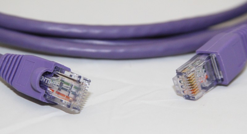 RJ45 to RJ45 Ethernet Patch Cable - 3ft