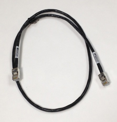2 Ft. IP20 Shielded Ethernet Patch Cable